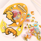 Genial Set De 240 Stickers Kawaii Gudetama Lazy Egg Anime
