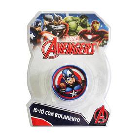Ioiô Com Luz Avengers Capitão America - Toyng