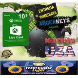 Tarjeta Xbox Live Cash 10 Usd Gift Card   Mercado Lider