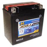 Bateria 12 Ah Ma12-e Quadriciclo Honda Trx420 Fourtrax Moura