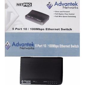 Suicher Advantek Networks 5 Puertos.