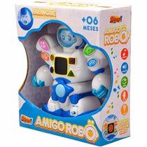 Boneco Amigo Robo Bilingue - Zoop Toys