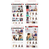 Loja Virtual Magento Ecommerce Roupas Moda Fashion Completa