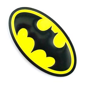 Autoadesivo Logo Emblema Alto-relevo Metal Hero Batman