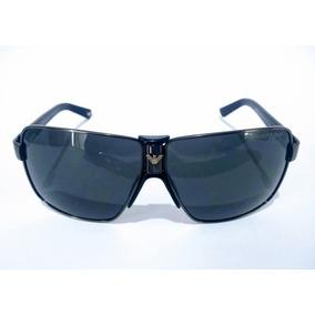 3cc046f23 Óculos Ea Ea9691 S Preto E Dourado De Sol - Óculos no Mercado Livre ...