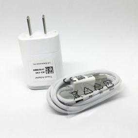Cargador Lg Original Carga 1.2a K4 Stylus G2 G3 Mini -blanco