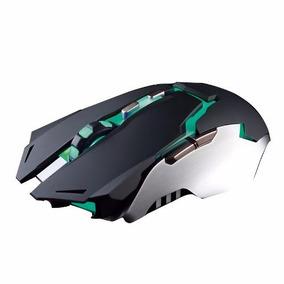 Mouse Gamer Noganet Ayax 7 Botones 4000 Dpi Retroiluminado