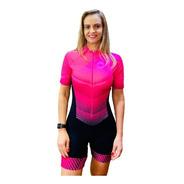 Macaquinho Ciclismo Feminino Elite Gladiador Mc