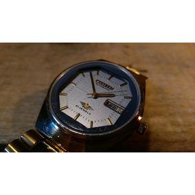 Precioso Reloj Citizen Automático 21 Joyas Dorado Vintaje