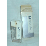 M115 Frasco Vacio Con Caja Perfume Frances Ted Lapidus Pour