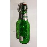Botella Vacia De Cerveza Grolsch (1233)