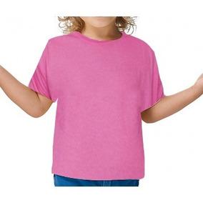 Camiseta Infantil Colorida Para Sublimação
