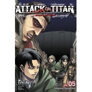 Manga, Kodansha, Attack On Titan Vol. 5. Ovni Press