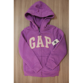 Blusa Moleton Gap Infantil Feminina Violeta