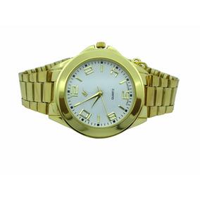 Atacado 4 Relógios Analógico Dourado Com Pingente Ab-30