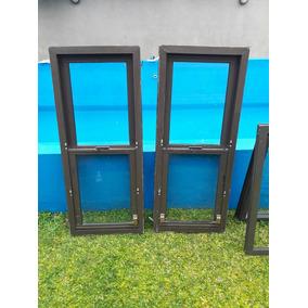 Ventanas de aluminio anodizado bronce aberturas ventanas for Ventanas de aluminio color bronce