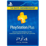 Psn Plus. 14 Dias. Ps4, Ps3