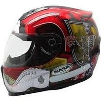 Capacete Nasa Helmets Cavalera T/opções