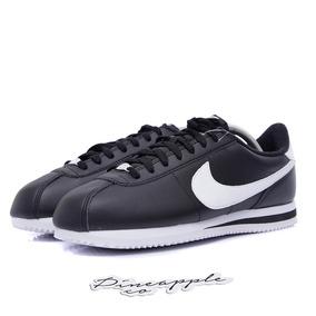 Nike Cortez Leather Black White