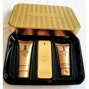 Kit Paco Rabanne One Million 100ml + Pós-barba + Gel Banho