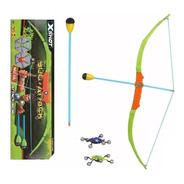 X Shot Bow & Arrow Arco Con Flechas Juguete Bug Attack