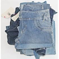 Kit Roupas Jeans Com 15 Peças Mistas - Ideal Para Revenda