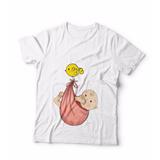 Camiseta Gestante Gravida Camisa Cegonha