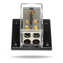 Installgear 0/2/4 Awg Distribución Gauge Power Block 1/0 Cal