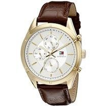 Sport Lux Reloj Dorado Del Tommy Hilfiger De Los Hombres C