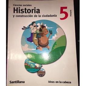 Ciencias Sociales, Historia 5 Quinto, Santillana, Usado