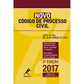 Novo Codigo De Processo Civil - Ed Bolso - Manole
