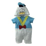 Pañalero  Algodon Bordado Disney Pato Donald