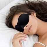 Máscara Para Dormir 3d Preta + Protetor Auricular