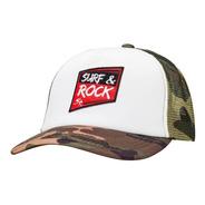 Gorra Surf & Rock - Parafina Camuflada White