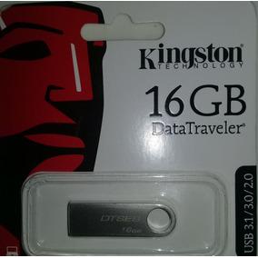 Pendrive Marca Kingston De 16gb Usb 3.1/ 3.0/ 2.0 Plateado