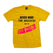 Remera Sex Pistols  Nevermind The Bollocks