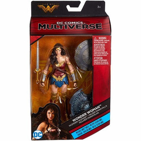 Dc Multiverse Wonder Woman 2 Escudos Exclusiva Toys 2017