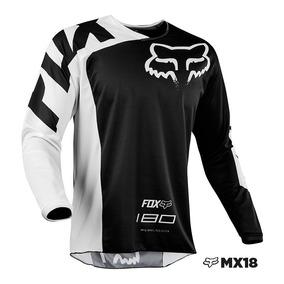 Jersey Fox Racing 180 Race Negro Talla Xxl Motocross