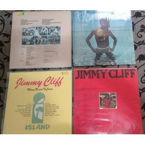 Lote 4 Lps Jimmy Cliff Importados Excelente Estado R$ 500,00