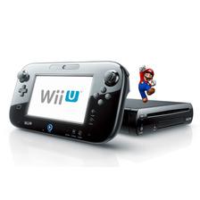 Wii U Negra Desbloqueada 10 Juegos. Garantía 6 Meses
