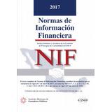 Normas De Información Financiera Nif 2017 Pdf
