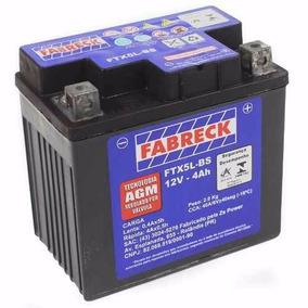 Bateria Selada Fabreck Moto Kasinski Win 100, 100cc,12v,4 Ah