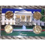 Coleccion Monedas 1 Dolar Presidentes En Estuche, One Dollar