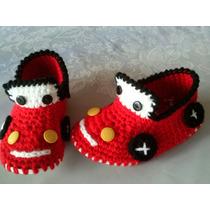 Escarpines Para Bebes. A Crochet. Modelos Personalizados
