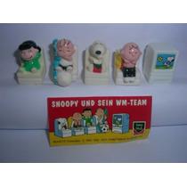 Kinder Ovo - Coleção Compl. - Snoopy Wm - Team