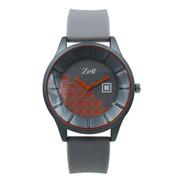 Reloj Zeit  Hombre  Gris  Caja Redonda - Cb00019026