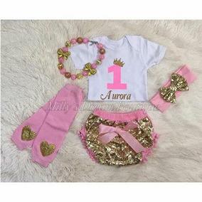 Ser Baby Bloomer Lentejuela Personalizado Envio Gratis
