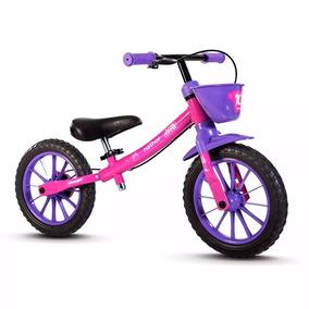 Bicicleta Infantil Nathor Balance Bike Equilibrio Sem Pedal