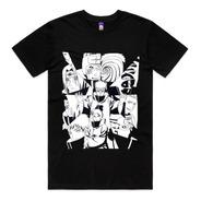 Camiseta Da Akatsuki Membros Itachi Sasori Pain Anime Naruto