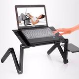 Mesa Cooler De Metal Para Laptop Con Posa Mouse Caja Nuevo